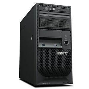 Lenovo ThinkServer TS140 70A4003AUX 4U Tower Server Intel Xeon E3-1226 v3 3.3Ghz