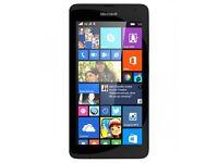 unlocked black Microsoft lumia 535
