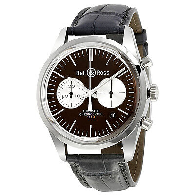 Bell and Ross VIntage Officer Chronograph Automatic Mens Watch