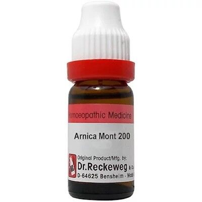 - Dr Reckeweg Germany Homeopathy Arnica Montana 200 CH Dilution 11ml