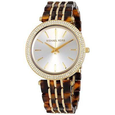 20901041eb8f NEW IN BOX  295 Michael Kors MK4326 Women s Darci Gold Tone Acetate Watch