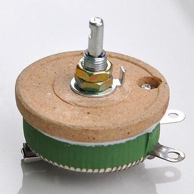 50w 5 Ohm High Power Wirewound Potentiometer Rheostat Variable Resistor. X1