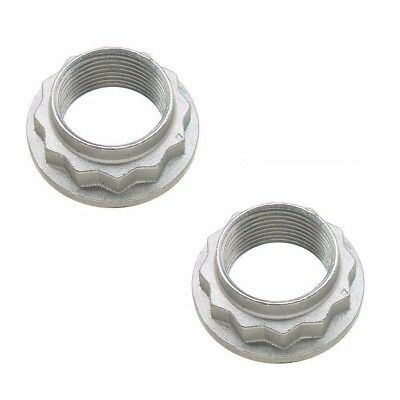 132 Snap - For BMW e36 e46 z4 2x Collar Snap Nut for Rear Wheel Bearing Axle New Febi