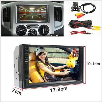 7'' 2Din HD 800*480 Bluetooth Player AUX TF Mirror Link+4LED Night Vision Camera Bluetooth 2 Palette