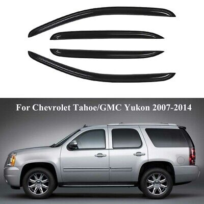 for Chevy Chevrolet Tahoe 07-2014 Window Visors Side Rain Guard Vent Deflectors