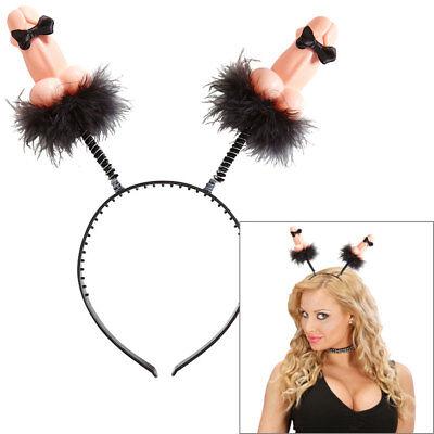 WILLY MIT FLIEGE # Penis Antennen Haarreif Bachelorette JGA Kostüm Party (Kostüm Antenne)