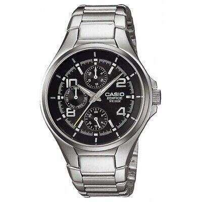 d3876481e6c6 Reloj CASIO EDIFICE EF-316D-1A - 3 Esferas - Dia Y Fecha - WR 10 BAR - 100 M