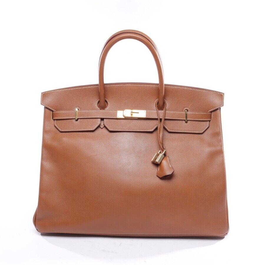 Hermès sac à main braun sac pour femmes birkin bag 40 sac cuir