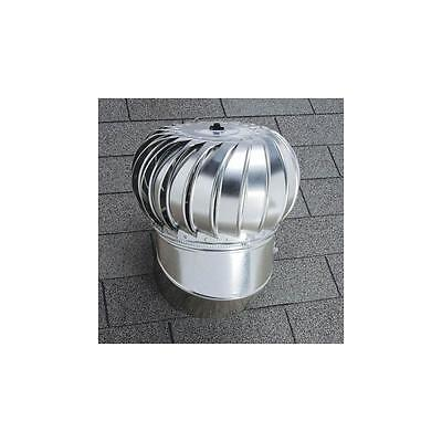 Internally Braced Aluminum Turbine - Black Aluminum 12-in Opening Internally Braced Adjustable Base Roof Turbine Vent