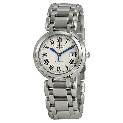 Longines PrimaLuna Mother of Pearl Stainless Steel Ladies Watch L81134716