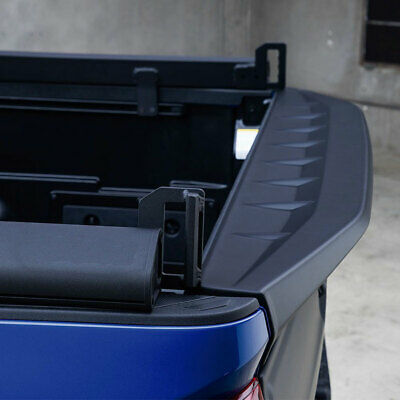 Fits 16-20 Tacoma Air Design ABS Tailgate Rear Lip Spoiler Satin Black TO02A15