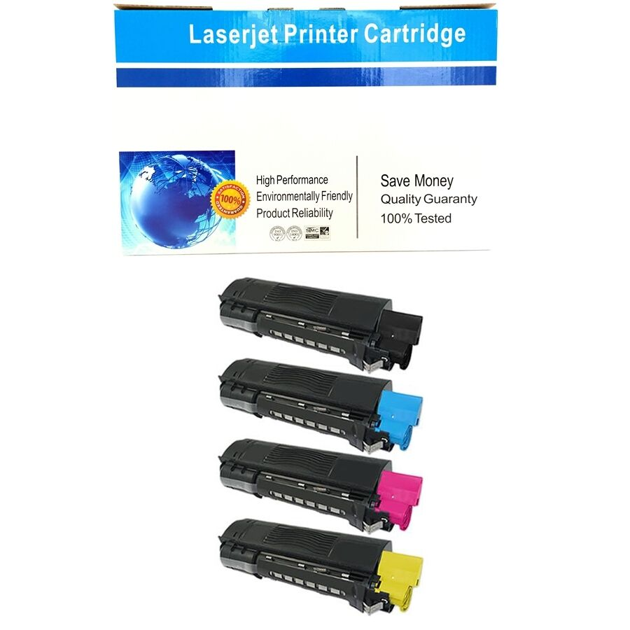 C5100 Tri-color Toner For Okidata OKI  C5100 C5400DN C5200 C5300 C5150 Printer