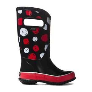 BOGS New in Box Rain Boots Sketched Dots Size 12 kids