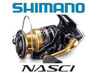 NASC5000XGFB Shimano Nasci C5000 XG FB Spinning reel with front drag