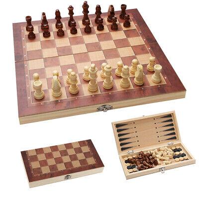 Schachspiel klappbares Schach Wunderschönes magnetisch TOWER 29*29CM