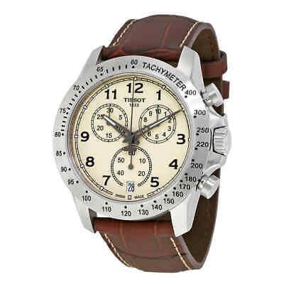 Tissot V8 Chronograph  Ivory Dial Men's Watch T106.417.16.262.00 ()