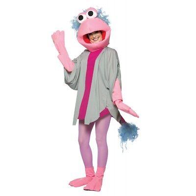 2010 Fraggle Rock Mokey Rasta Imposta Adult Costume New One Size Fits Most