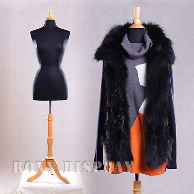 Female Size 6-8 Mannequin Dress Form Hard Form F68bkbs-01nx