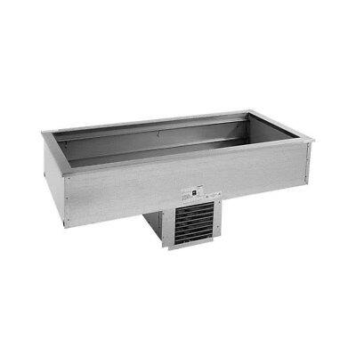 Delfield Dual 2 12 X 20 Pan Drop In Refrigerated Cold Well