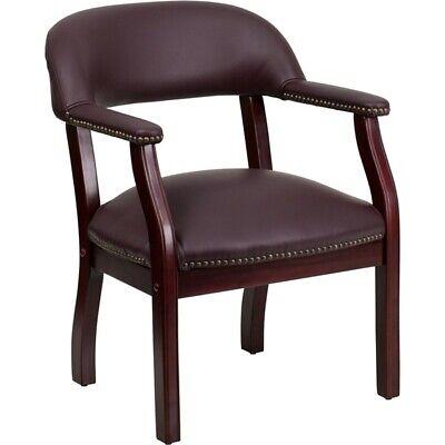 Flash Furniture Burgundy Leather Side Chair Burgundy - B-z105-lf19-lea-gg