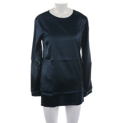 Incentive! Cashmere Silk Blouse Size XS Blue Ladies Top Shirt Blouse New