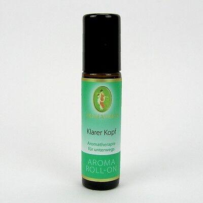 (80,90/100ml) Primavera Aroma Roll-on Klarer Kopf 10 ml