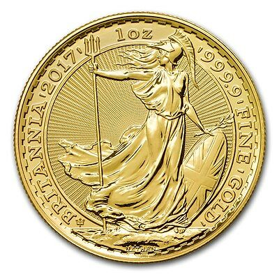 SPECIAL PRICE! 2017 Great Britain 1 oz Gold Britannia 30th Anniversary Privy