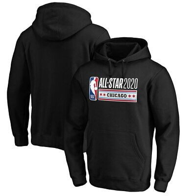 2020 NBA All-Star Game Official Logo Pullover Hoodie – Black S-3XL All Star Pullover