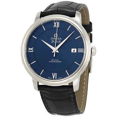 Omega De Ville Prestige Blue Dial Men's Watch 42413402003001