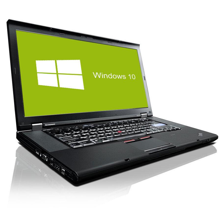 Lenovo Thinkpad W510 Notebook Quad Core I7 4x 16 Ghz 8gb Ram 320gb X260 Vpro Intel I5 6300u8gb Ddr4512gb Ssdwindows 10 Pro Hdd