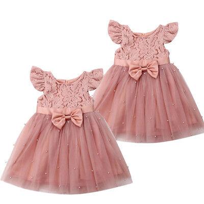 Kleinkind-Baby-Blumen-Kleid-Prinzessin Party Pageant Dresses Kids formales Kleid