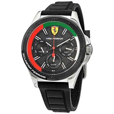 231a9902b381 Ferrari Yas Marina Quartz Black Dial Men's Watch 870016