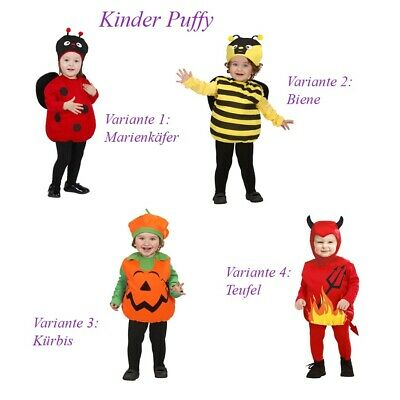 TIER KÜRBIS TEUFEL KOSTÜM KINDER Halloween Karneval Marienkäfer - Teufel Kind