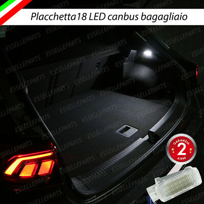 PLACCHETTA A LED BAGAGLIAIO 18 LED SPECIFICA VOLKSWAGEN T-ROC T ROC 6000K...