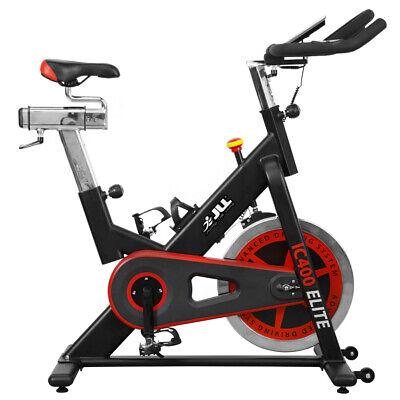 JLL® IC400 ELITE Indoor Bike, Direct Belt Driven Exercise, 20kg Flywheel