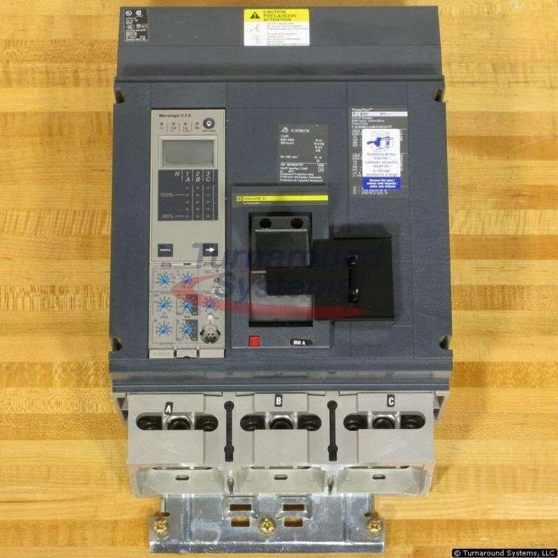 Square D Pja36080cu44bacbdsa Circuit Breaker, 800 Amp, 65 Kair, Shunt Trip, New!