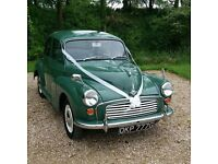 1968 morris minor wedding car hire