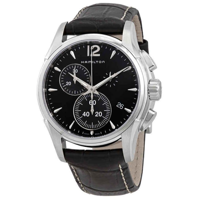 Hamilton-Jazzmaster-Chronograph-Quartz-Black-Dial-Men-Watch-H32612731