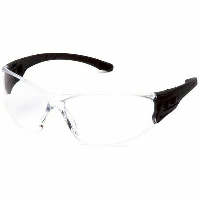 Pyramex Trulock Dielectric Safety Glasses Black Temples Clear Anti-fog