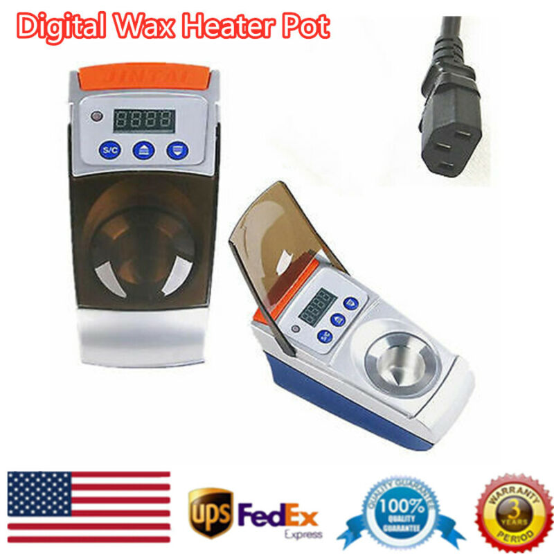 1-Well Wax Heater Pot Digital Analog Melting Dipping Melter Dental Equipment