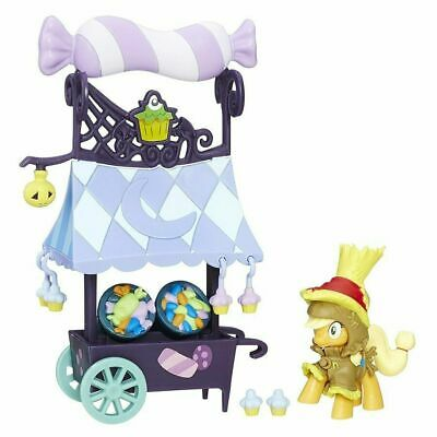 My Little Pony Friendship is Magic Collection Sweet Cart Toy With Applejack NEW