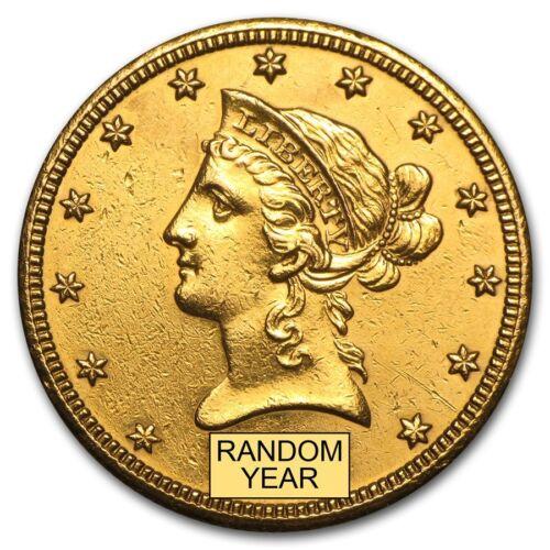 $10 Liberty Gold Eagle (Cleaned) - Sku #156448