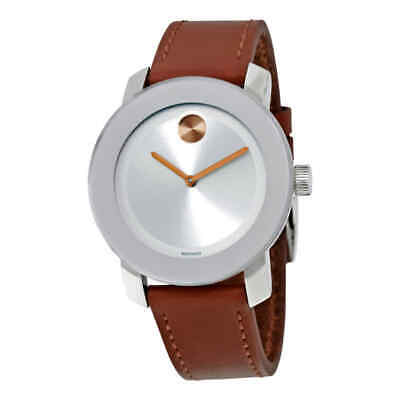 Movado Bold Silver Dial Ladies Watch 3600379