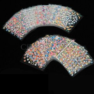 EZI-50-Sheets-3D-Nail-Art-Stickers-Manicure-Tips-Mix-Flower-Decals