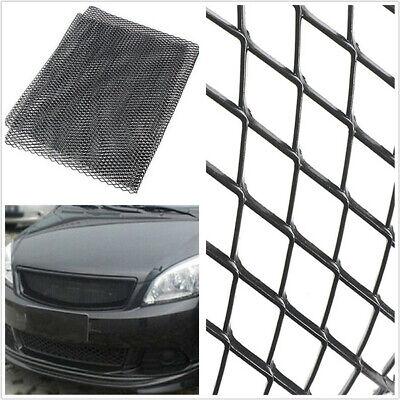 Black Aluminium Universal Automobiles Racing Grille Net 3mm*6mm Mesh 100cm*30cm comprar usado  Enviando para Brazil