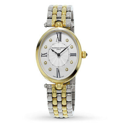 Frederique Constant Women's FC-200MPWD3V3B Quartz Two-Tone Bracelet 30mm Watch