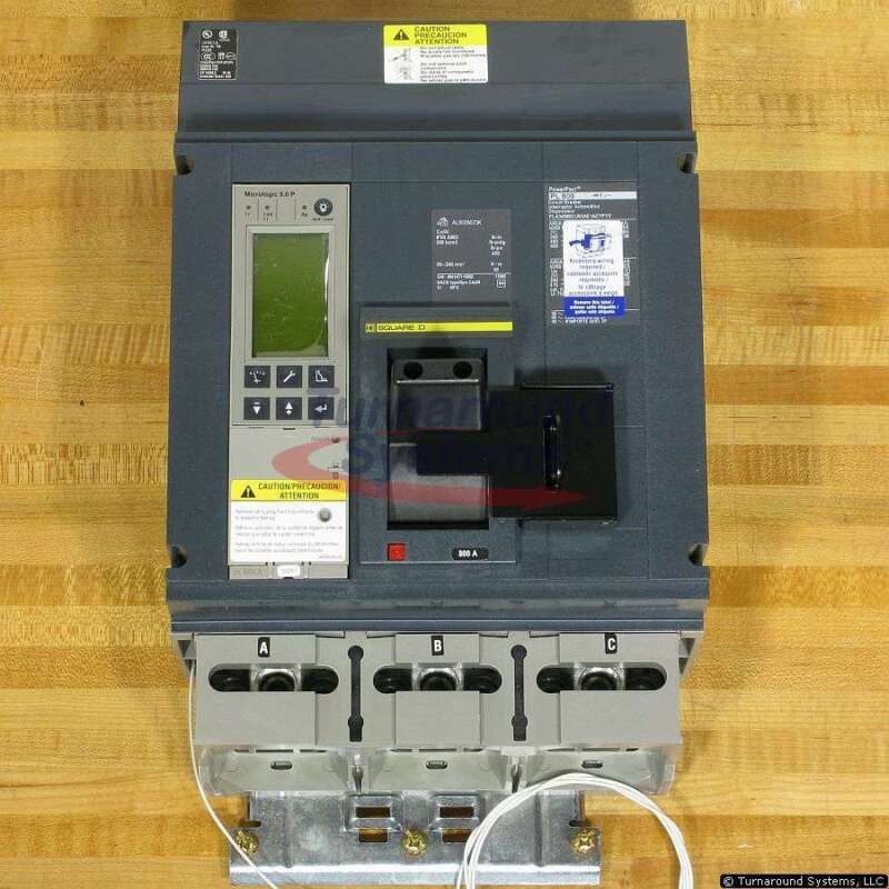 Square D Pla34080cu63ae1acypyv Breaker, 800 Amp, 100 Kair, 100% Rated, New!