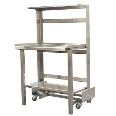 Mobile Retractable Prep Station 36 Or 48 Width
