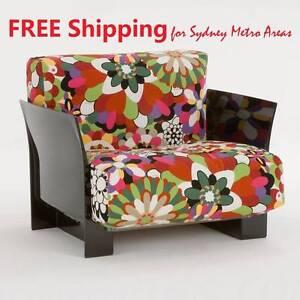 HALF PRICE - Lissoni & Tamborini Style Single Seat Sofa Zetland Inner Sydney Preview