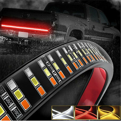 152CM Selbstklebend SUV Anhänger Heckklappe LED Blinker Bremslicht Tagfahrlicht